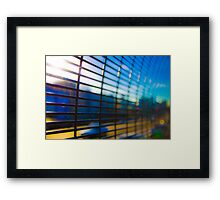 Grid 2 Framed Print