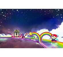 Rainbow Islands retro pixel art Photographic Print