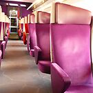 In the Train - TGV Seats by bubblehex08
