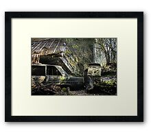 16.5.2015: Scrap Cars and Abandoned House Framed Print