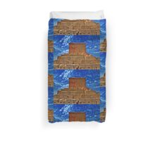 The Tomb of Cyrus The Great - Pasargadae Duvet Cover