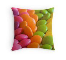 Smarties Throw Pillow