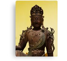 South East Asia Statue Canvas Print