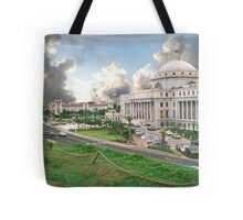 Puerto Rico, capital view Tote Bag