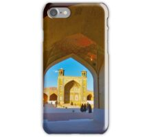 Through The Arches - Vakil Mosque - Shiraz - Iran iPhone Case/Skin