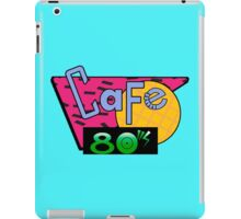 Cafe 80's iPad Case/Skin