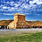 The Tomb of Cyrus The Great - Distance by Bryan Freeman