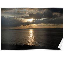 Firth of Forth Sunset Poster