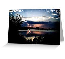 ?Sunset or Sunrise? Greeting Card