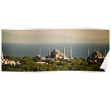 Mosques On The Bosphorus Poster