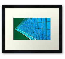 Do the Splitz - Dubai International Airport terminal Framed Print