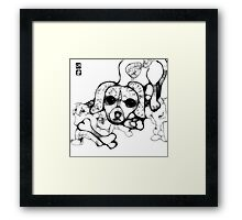 new puppy Framed Print