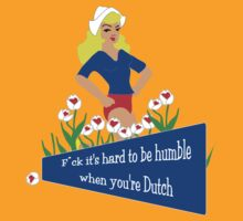 Blunt Blonde Dutch Tee by patjila
