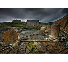 Keiss Harbour, Caithness, Scotland Photographic Print