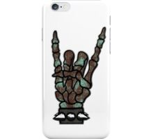 HEAVY METAL HAND SIGN - the sea iPhone Case/Skin