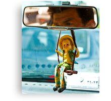 Taxi Driver - Shiraz - Iran Canvas Print