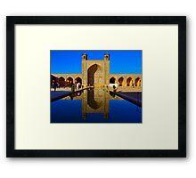Vakil Mosque - SHIRAZ - IRAN Framed Print