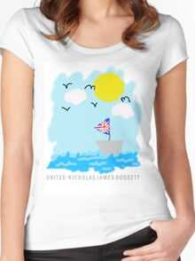 UNITED Seaside Trip Women's Fitted Scoop T-Shirt