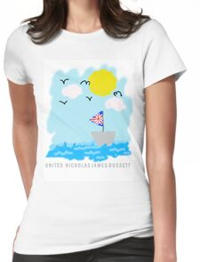 UNITED Seaside Trip Womens Fitted T-Shirt