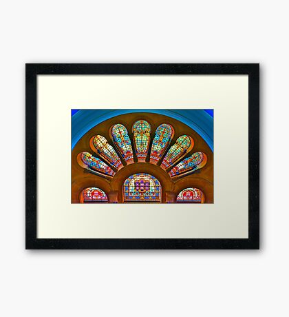 Queen Victoria Building - SYDNEY Framed Print