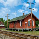 Train Depot - Madison, Ohio by Bob  Perkoski