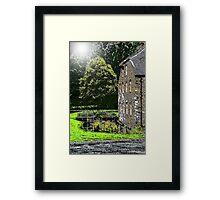 Buckfast Mill Framed Print