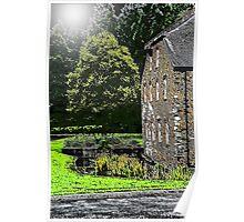 Buckfast Mill Poster
