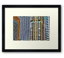 High Five - Numero Duo - SYDNEY Framed Print