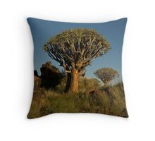 Double Quiver Tree Throw Pillow