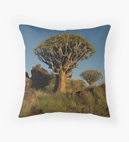 Double Quiver Tree Throw Pillow