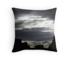 Rising dusk Throw Pillow