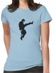 The Funny Walk Ministry Womens Fitted T-Shirt