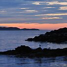 Sunrise at Witless Bay by OldBirch