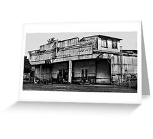Long Flat Motors - NSW - Australia Greeting Card