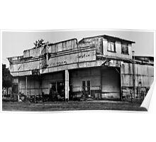 Long Flat Motors - NSW - Australia Poster