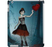 Bleeding heart - circus doll iPad Case/Skin