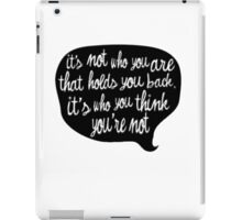 You are great iPad Case/Skin