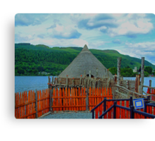 Loch Tay Crannog Canvas Print