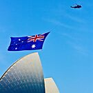 Australia Day Sails - Sydney Opera House by Bryan Freeman