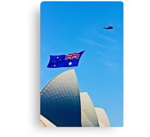 Australia Day Sails - Sydney Opera House Canvas Print