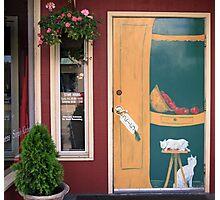 painted door Photographic Print