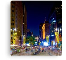 Martin Place - Sydney Festival First Night - Australia Canvas Print
