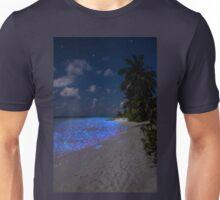 Fluorescent plankton in the Maldives - Indian Ocean Unisex T-Shirt