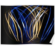 Painting with light Poster