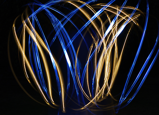 Painting with light by Kerry  Hill