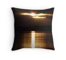 Orkney Sunrise Throw Pillow