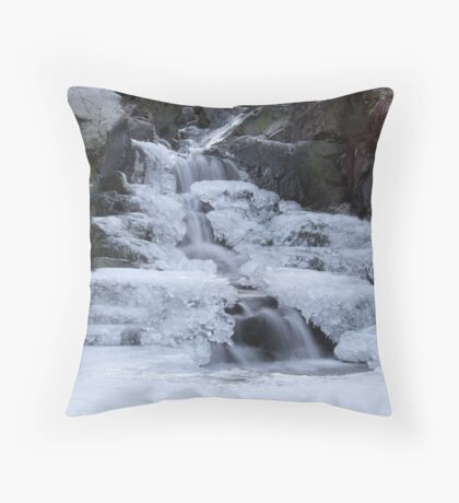 Frozen Lakeland Ghyll Throw Pillow