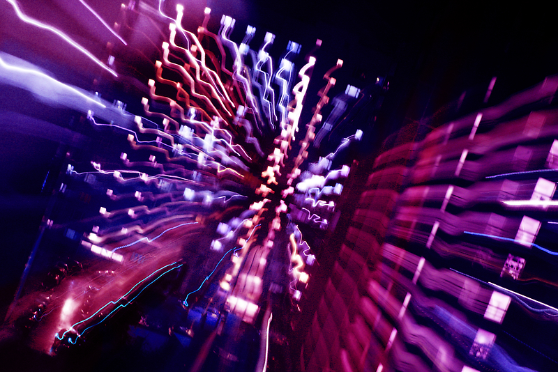 Zoom ecstasy, at the speed of light by Explosive