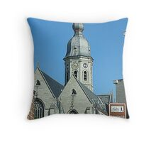 Temse....Onze-Lieve-Vrouw Church Throw Pillow