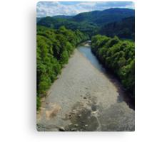 River Gary view Canvas Print